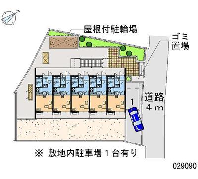 【地図】センタービレッジⅡ