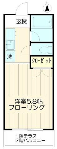 バストイレ別【美玉荘】