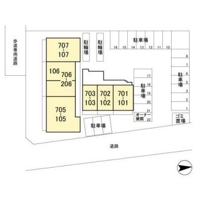 【区画図】アヴェニール柏の葉