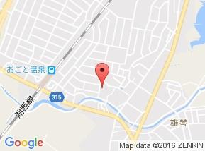 【地図】リビングタウン湖都ヶ丘Ⅱ B棟