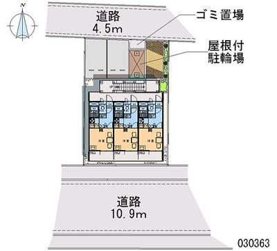 【地図】シャンブル弐番館
