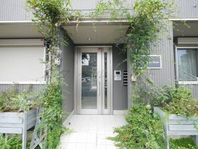 【エントランス】Garden House Amano~仲介手数料半月分キャンペーン~