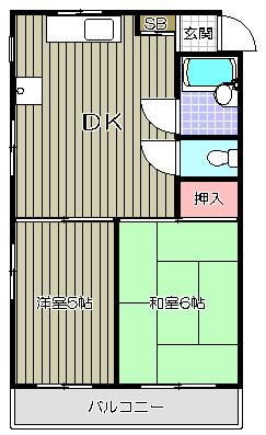 サンハイツ大竹