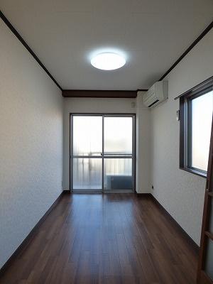 【寝室】サンハイツ大竹