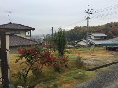 【前面道路含む現地写真】倉敷市二子 土地
