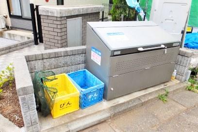 専用ゴミ収集ボックス