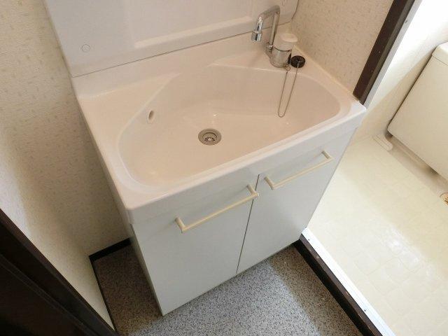 清州マンション 独立洗面台