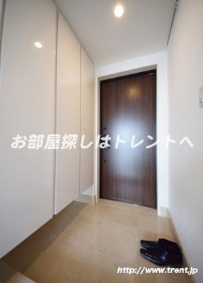 【玄関】パークコート千代田富士見ザタワー