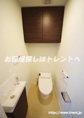 【トイレ】パークコート千代田富士見ザタワー