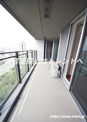 【バルコニー】パークコート千代田富士見ザタワー
