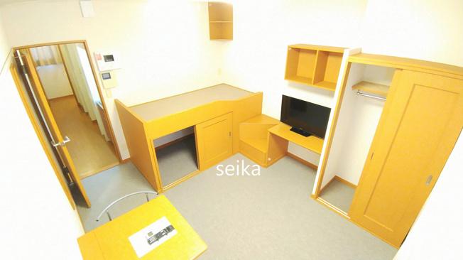 造り付けベットタイプのお部屋です。