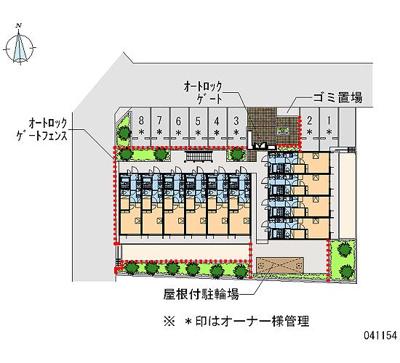 【地図】エスポワール六郷