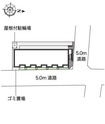【区画図】ソレイユ松原