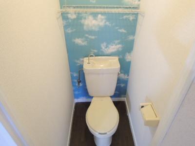 【トイレ】ハイツわたなべ