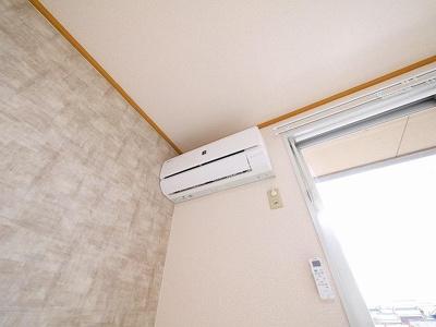 全室エアコン付きです