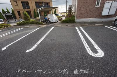 【駐車場】アンソレイエ白羽A