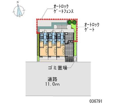 【区画図】EASTAGEⅡ
