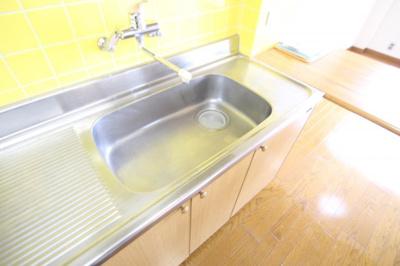 【キッチン】ニチモ日吉第5コーポラス