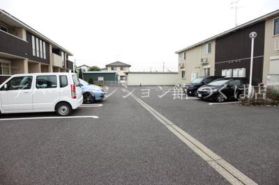【駐車場】プラシードつくばA