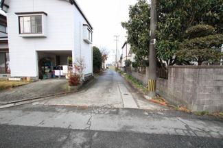 【前面道路含む現地写真】八女市龍ヶ原土地
