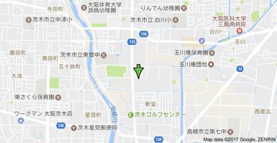 【地図】ジュネス新堂