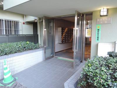 【エントランス】東急ドエル江田ビレジA棟