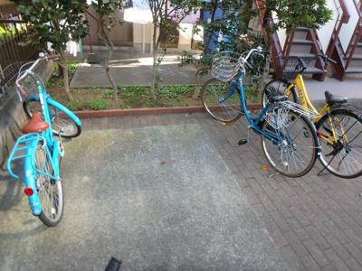 駐輪場無料