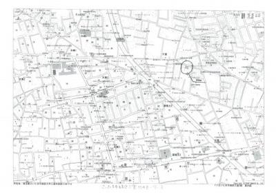【地図】さいたま市緑区三室 デザイン新築分譲住宅全2棟