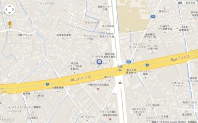 【地図】グランドハイムB