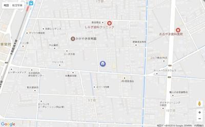 【地図】リベルテ北畝
