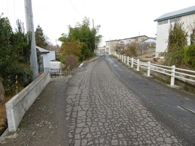 【前面道路含む現地写真】黒石黒石売地