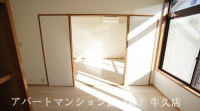 【寝室】シティハイムシャトー