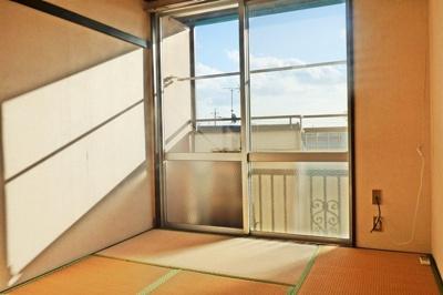 【寝室】コーポ槇Ⅰ