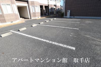 【駐車場】クリスタルハイツA