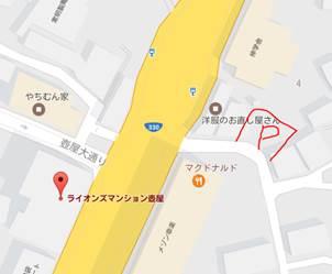 【地図】ライオンズマンション壺屋