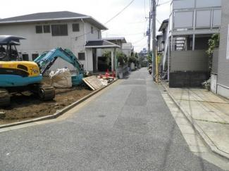 世田谷区桜丘の新築戸建2号棟 外観写真