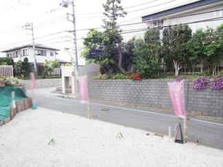 世田谷区成城7丁目の新築戸建3号棟 外観写真