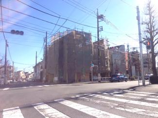世田谷区深沢4丁目の新築戸建 外観