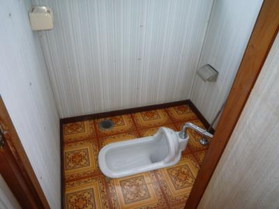 和式水洗トイレ