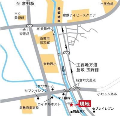 【地図】アンソレイエ中央