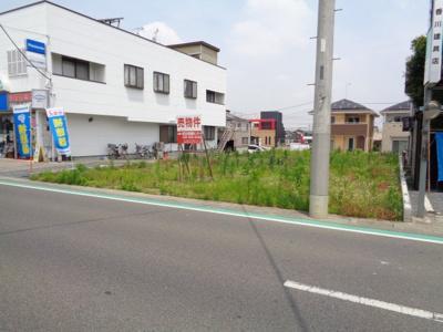 【前面道路含む現地写真】深谷市萱場売地