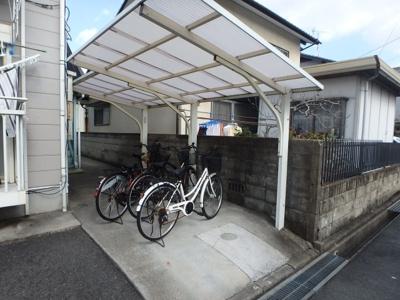 ブルーリバー (倉敷市中庄 賃貸アパート) 自転車置き場