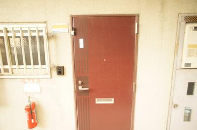 【玄関】シェモア3番館