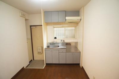 【キッチン】シェモア3番館