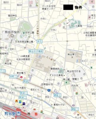【地図】中西売地
