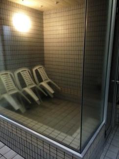 温泉大浴場内サウナルーム