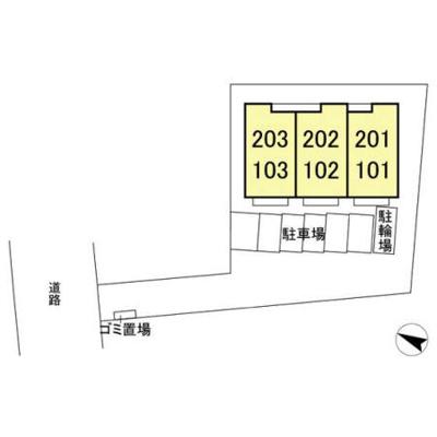 【区画図】カーサクラール