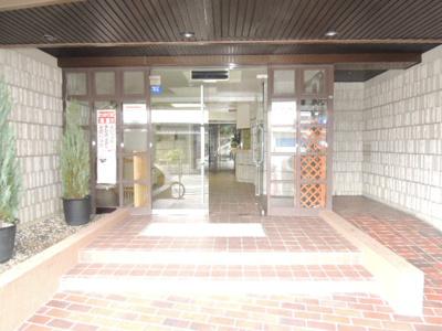 【エントランス】ダイヤモンドハイツ橋原