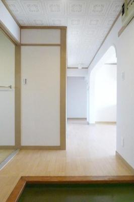 【玄関】マンションコスモス
