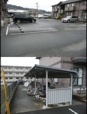 【駐車場】ウィルネストA棟